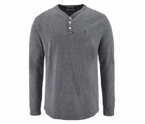 Henleyshirt »CM Henley L/S 10« grau