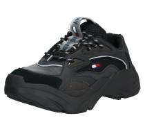 Sneaker 'chunky Runner' schwarz