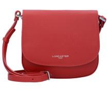 Adele Mini Bag Umhängetasche Leder 20 cm rot