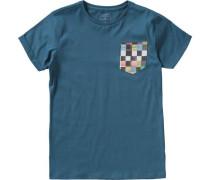 T-Shirt Quadro für Jungen petrol