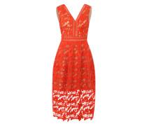 Kleid 'Lilian' neonorange