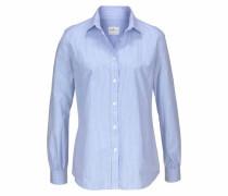 Bluse 'Stripe' hellblau / weiß