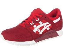 Sneaker 'Gel Lyte Iii' rot / weiß