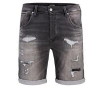 Jeansshorts 'rick Dash Shorts GE 090' grey denim