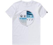 T-Shirt 'blazed' für Jungen blau / schwarz / weiß