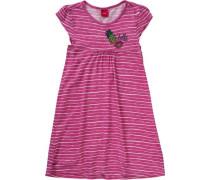 Kinder Jerseykleid mit Pailletten pink
