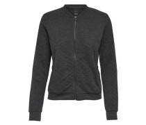 Sweater-Bomberjacke 'joyce' graphit