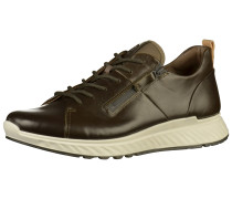 Sneaker beige / hellbraun / oliv