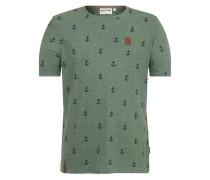 T-Shirt 'Fuck ' grün