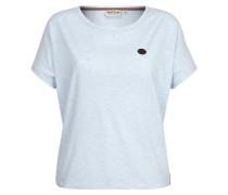 T-Shirt 'Schnella Baustella Iii' blau