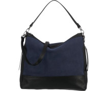 Handtasche marine / schwarz