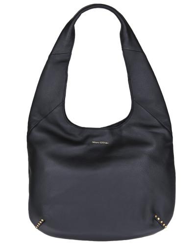 Hobo-Bag 'Nila' schwarz