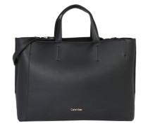 Handtasche 'metropolitan Tote' schwarz