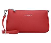 Adele Mini Bag Umhängetasche Leder 23 cm rot