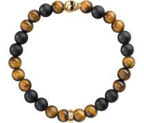 Armband »Armband A1509-881-2-« braun / schwarz