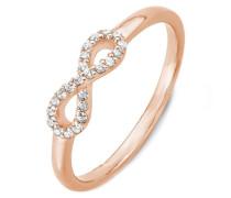 Ring mit Zirkonia »So1417/1-4« rosegold