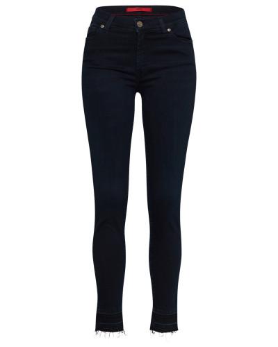 Skinny Jeans 'Georgina/15' blue denim