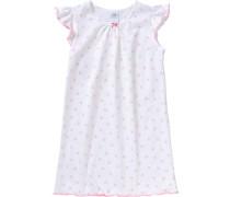 Kinder Nachthemd rosa / weiß