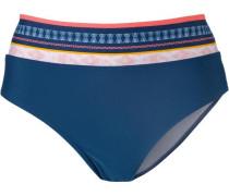 'Zucci' Bikini Hose blau / orange