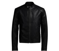 Leichte Biker-Jacke schwarz