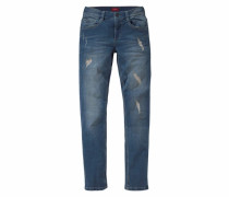 Stretchjeans Regular-fit blau