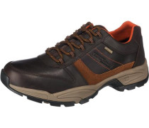 Evolution Freizeit Schuhe schoko / neonorange