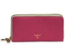 'Golden Jumper' Geldbörse Leder 18 cm pink