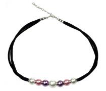 Perlenkette 'Claire' mischfarben