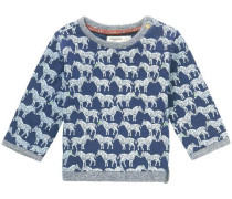Pullover Dumont blau / hellgrau