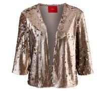 Glamouröser Paillettenblazer gold