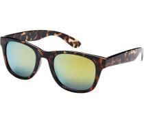 Klassische Sonnenbrille braun