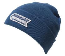 Topfmütze für Jungen blau