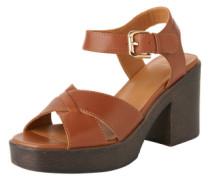Sandaletten 'Marva' braun / cognac