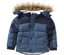 Winterjacke mit abnehmbarer Kapuze für Jungen
