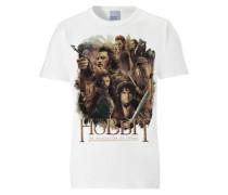 """T-Shirt """"The Hobbit - The Desolation of Smaug"""" mischfarben / weiß"""