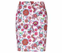 Bodyform-Druckrock mit Blumendessin mischfarben