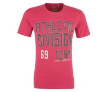 Sportives Printshirt dunkelpink