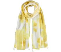 Schal 'Teana' gelb / weiß