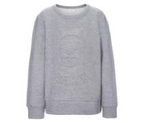 'nitbatman' Sweatshirt mit Brush-Effekt