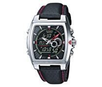 Edifice Armbanduhr schwarz