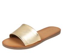 Pantolette 'Brittny' gold