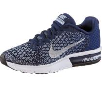 'Air Max Sequent' Sneaker blau