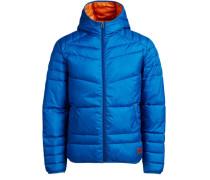 Klassische Wattierte Jacke blau
