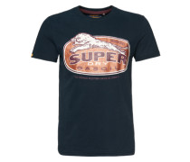 T-Shirt 'Reworked Classic' blau