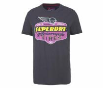 T-Shirt 'reworked Classic Tee' dunkelgrau