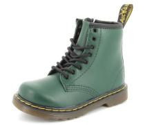 Stiefel Lamper Leder grün