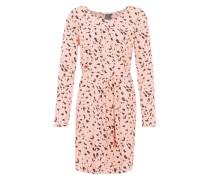 Kleid 'Drippa' rosa / schwarz