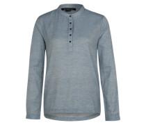 Shirtbluse 'West End' blau