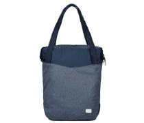 Daypacks & Bags Wool Tech Tote Shopper Tasche 32 cm blau