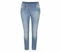 Boyfriend-Jeans 'p78A' blue denim
